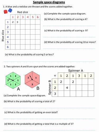 Simple Probability Worksheet Pdf Beautiful Simple Probability Worksheet