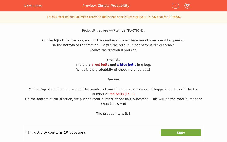 Simple Probability Worksheet Pdf Inspirational Simple Probability Worksheet Edplace