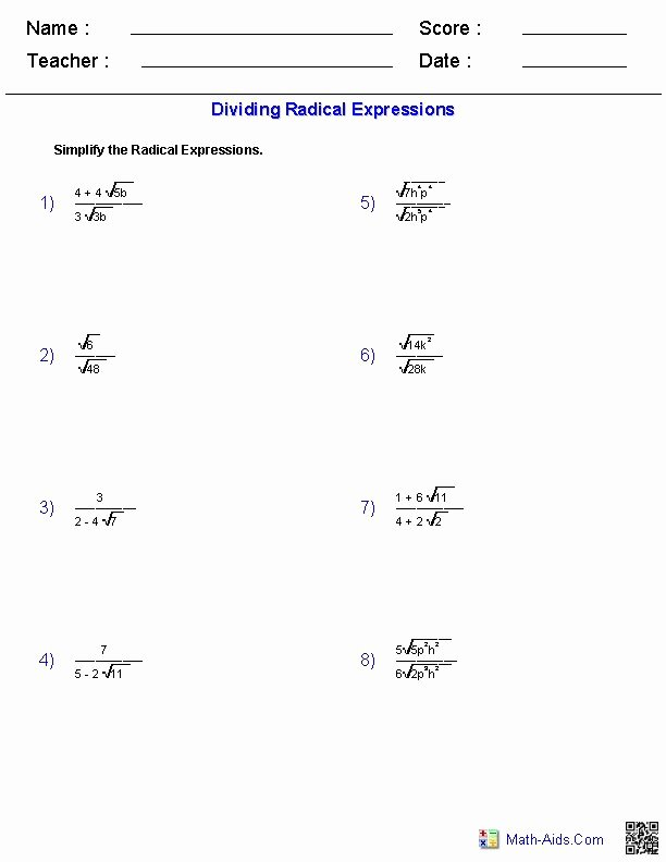 Simplify Exponential Expressions Worksheet Beautiful Best 25 Radical Expressions Ideas On Pinterest