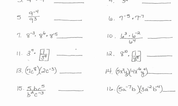 Simplify Exponential Expressions Worksheet Beautiful Cool Simplify Exponential Expressions Worksheet Math