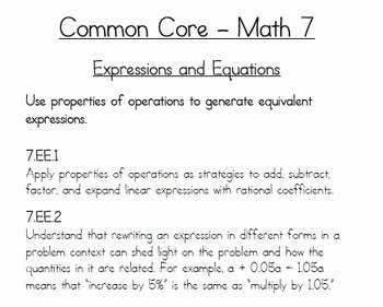 Simplify Rational Expressions Worksheet Inspirational 7th Grade Math Mon Core Simplifying Rational