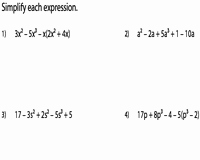 Simplifying Algebraic Expressions Worksheet Answers Awesome Simplifying Algebraic Expression Worksheets