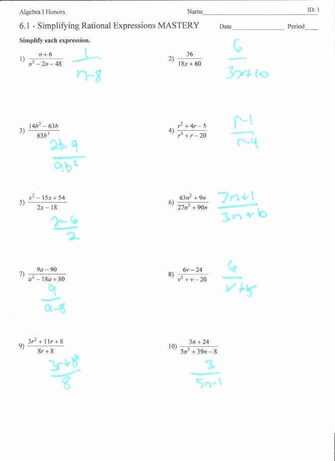 Simplifying Algebraic Expressions Worksheet New Simplifying Algebraic Expressions Worksheet