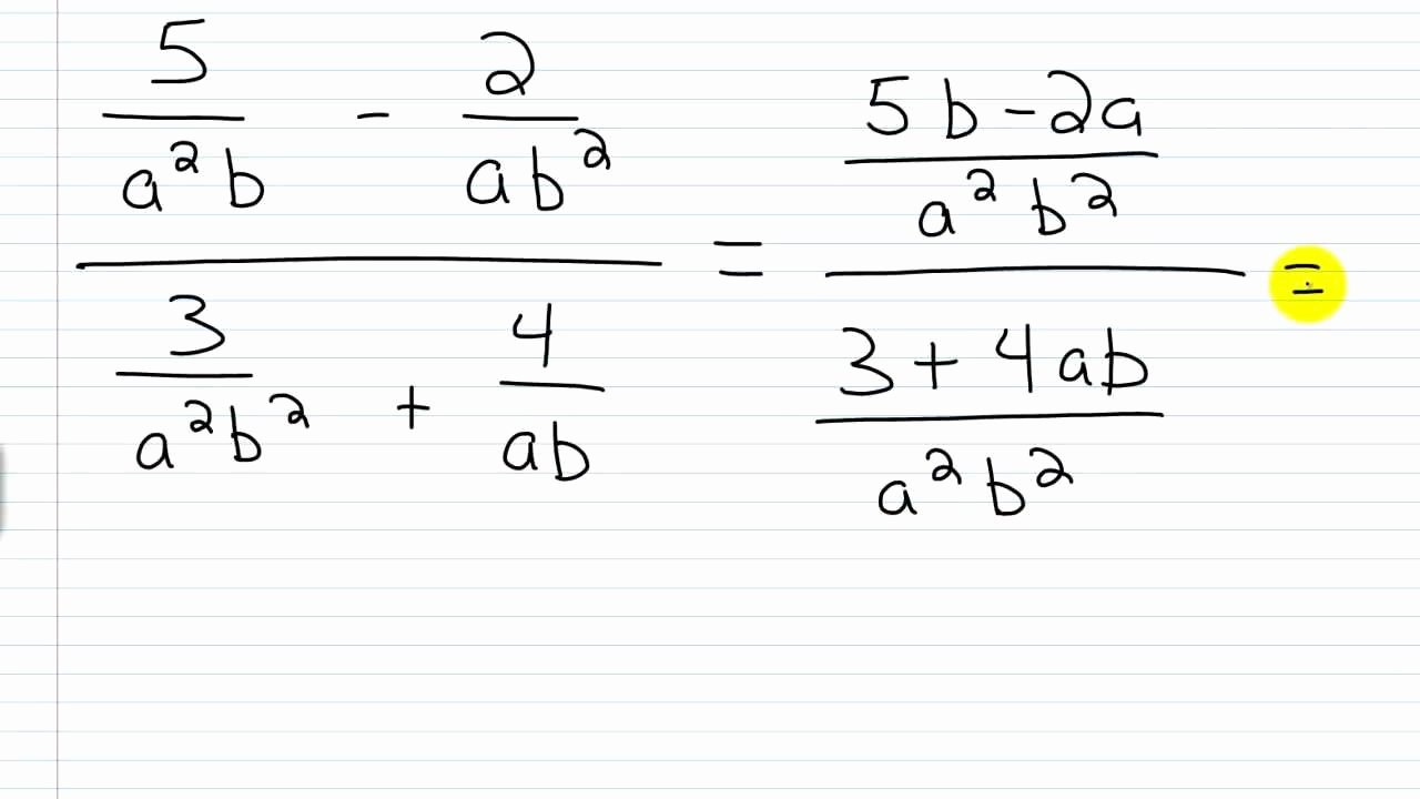 Simplifying Complex Fractions Worksheet Best Of Simplifying Plex Rational Expressions Worksheet the