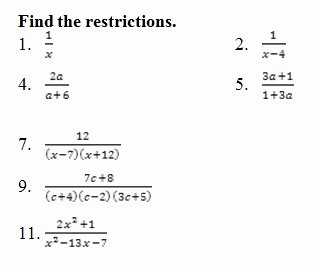 Simplifying Complex Fractions Worksheet Inspirational Simplify Rational Expressions Worksheet Pdf with Answer