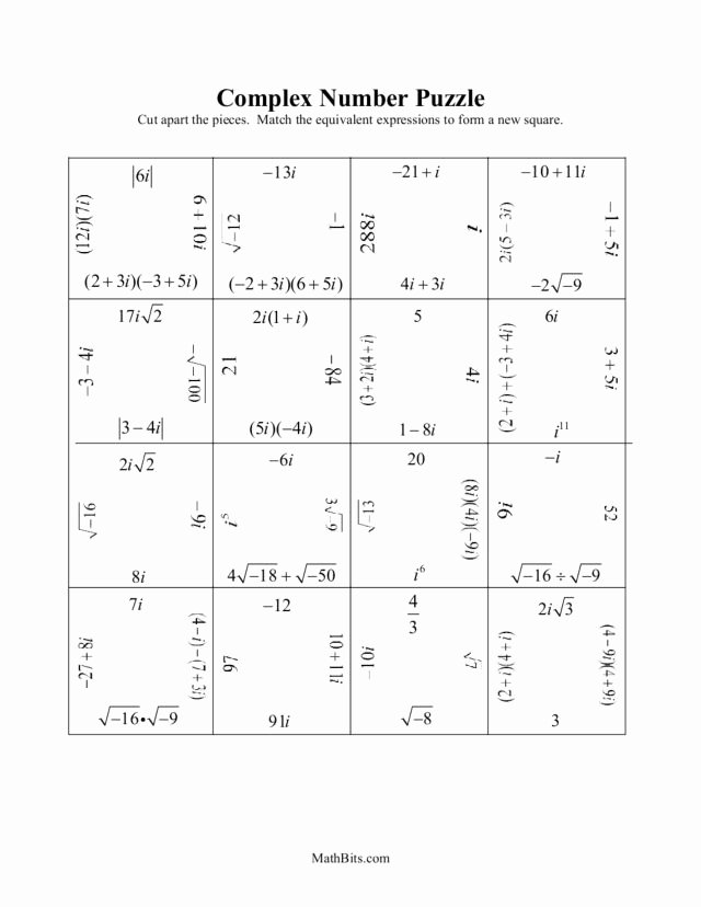 Simplifying Complex Numbers Worksheet Elegant Writing Plex Numbers Homework Help Stonewall Services