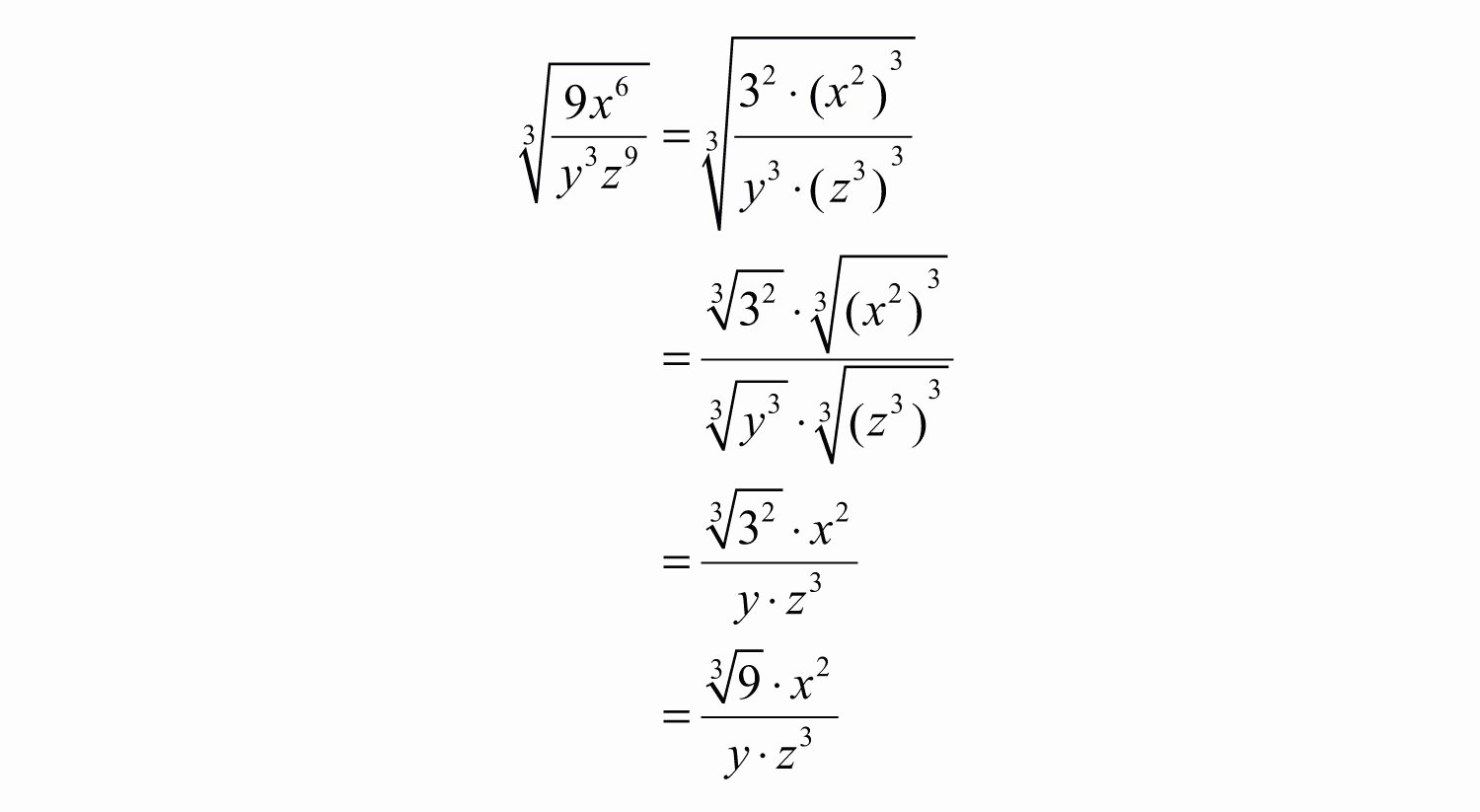 Simplifying Cube Roots Worksheet Lovely Simplifying Radical Expressions