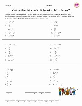 Simplifying Exponential Expressions Worksheet Luxury Simplifying Exponential Expressions Laws Of Exponents