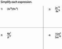 Simplifying Exponential Expressions Worksheet New Simplifying Algebraic Expression Worksheets