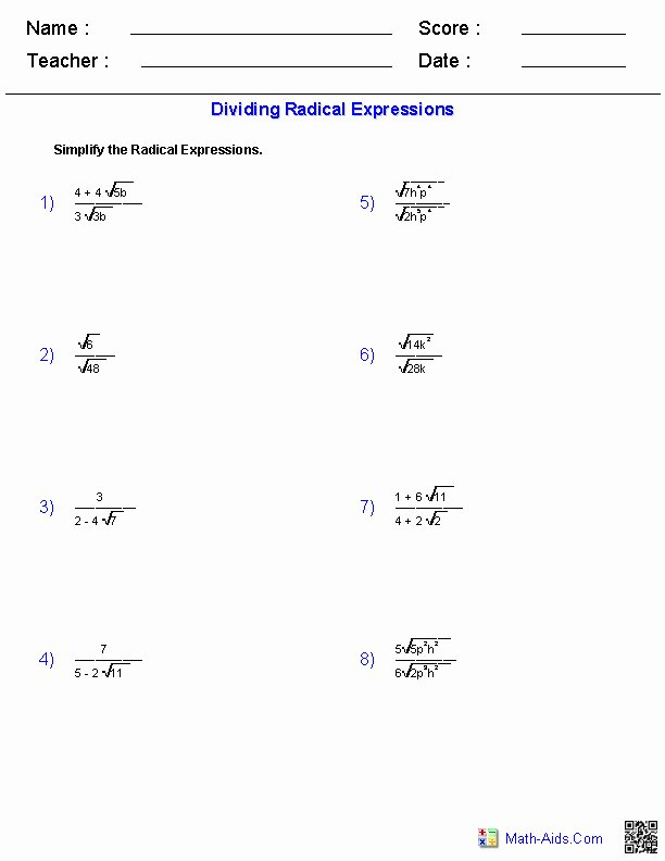 Simplifying Radicals Practice Worksheet Best Of Simplifying Exponents Worksheet