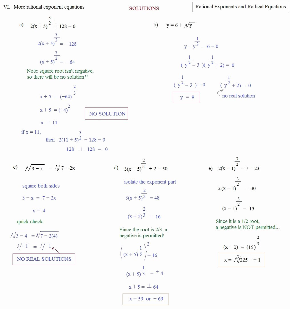 Simplifying Radicals with Variables Worksheet Elegant Simplifying Radicals with Variables and Exponents