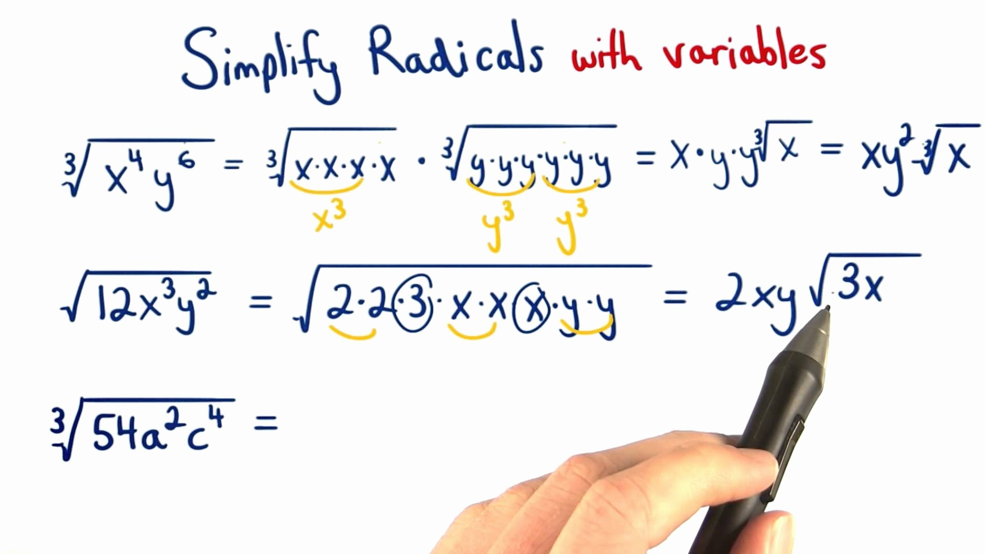 Simplifying Radicals Worksheet 1 Answers Lovely Simplifying Radicals Worksheet 1 Answers the Best