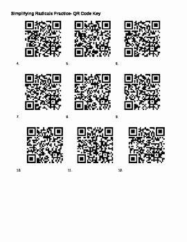Simplifying Radicals Worksheet Answer Key Awesome Simplifying Radicals and Fractional Exponents Worksheet