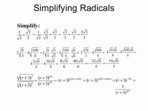 Simplifying Rational Exponents Worksheet Awesome Simplifying Exponents Worksheet