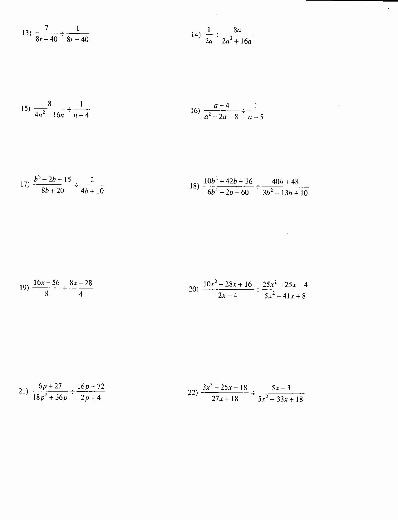 Simplifying Rational Exponents Worksheet Elegant 12 Best Of Rational Exponents Worksheets with