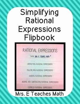 Simplifying Rational Expressions Worksheet Answers New Simplifying Rational Expressions Worksheet Answer Key