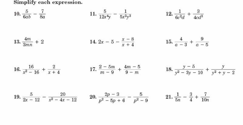 Simplifying Rational Expressions Worksheet New 15 Best Of Simplifying Rational Exponents