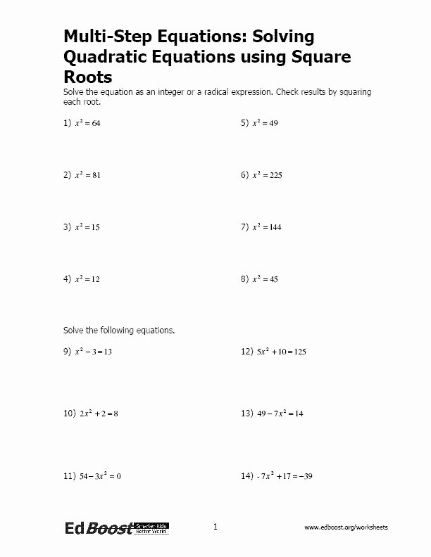 Simplifying Square Roots Worksheet New Simplifying Square Roots Worksheet