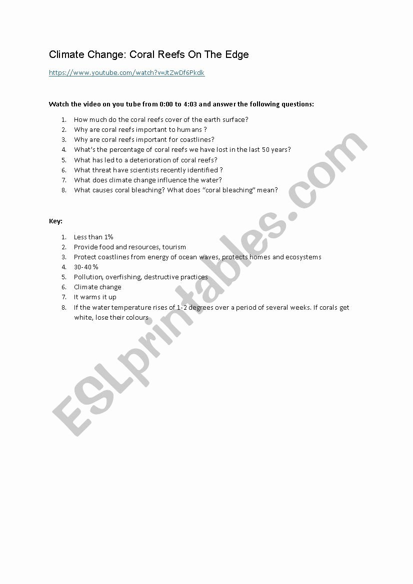 Skills Worksheet Active Reading Inspirational Climate and Change Worksheet Answers Skills Active Reading