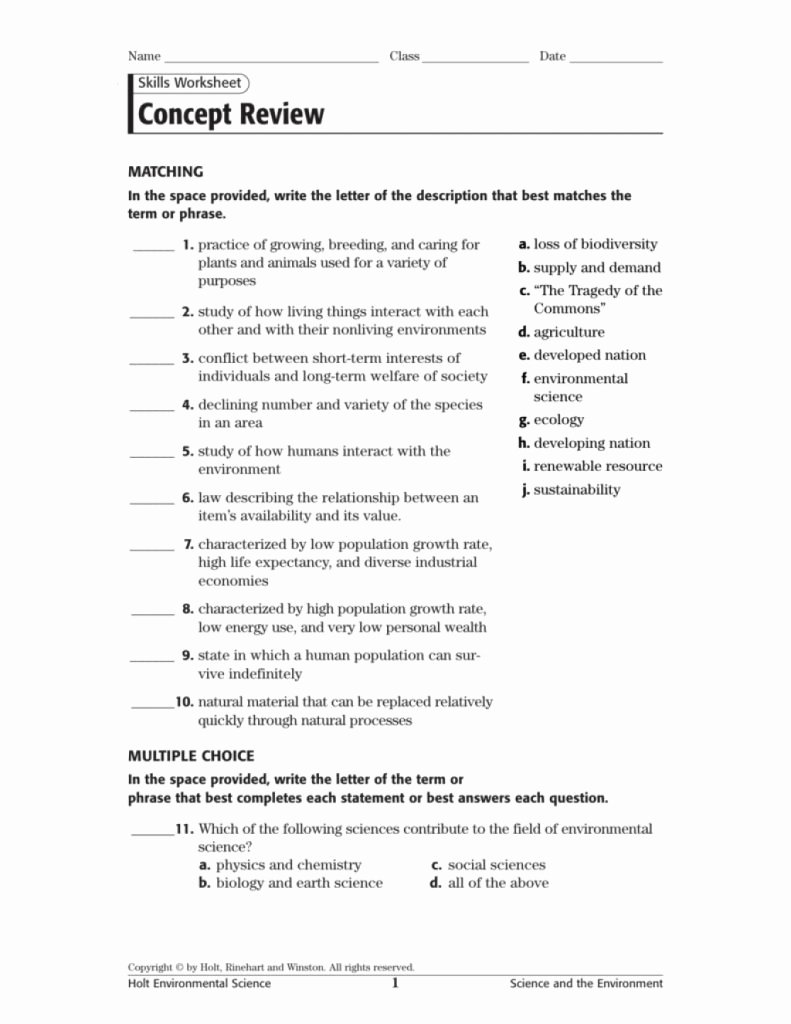 Skills Worksheet Concept Mapping Inspirational Unbelievable Concept Review Part Of by Using This Skills