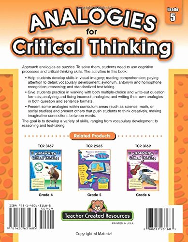 Skills Worksheet Critical Thinking Analogies Lovely Analogies for Critical Thinking Grd 5 Import It All