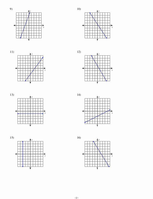 Slope From A Graph Worksheet Elegant Finding Slope From A Graph Worksheet
