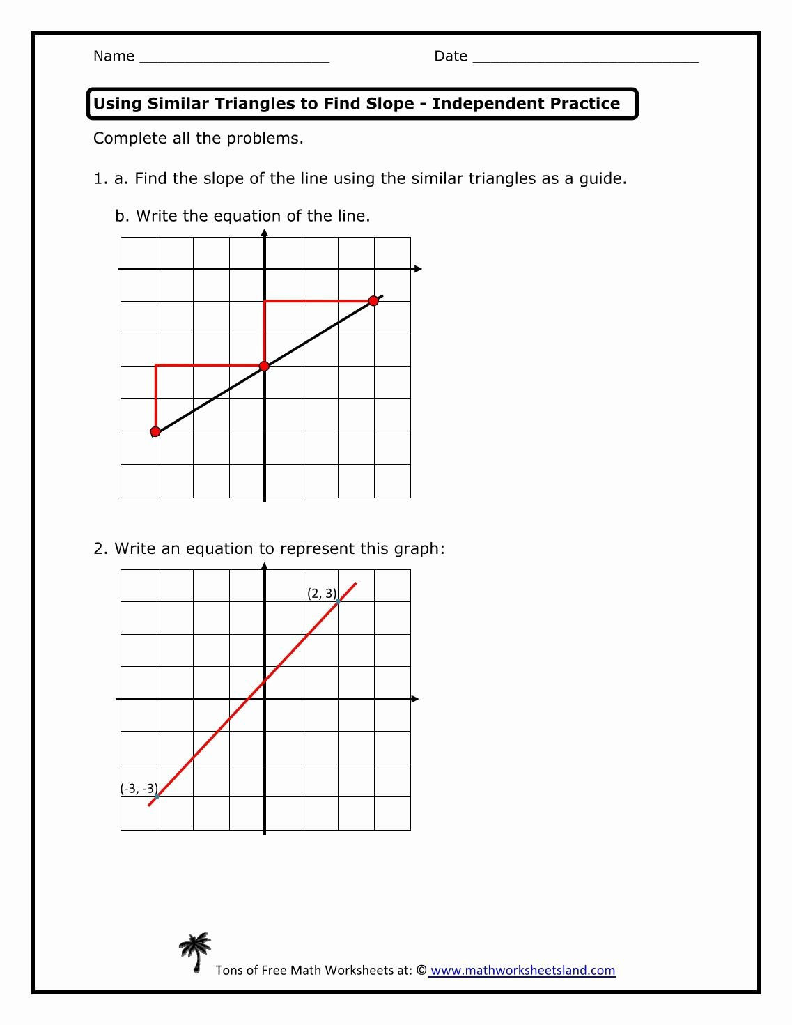 Slope Of A Line Worksheet Inspirational Graphing Linear Equations Calculator Worksheet Tessshebaylo