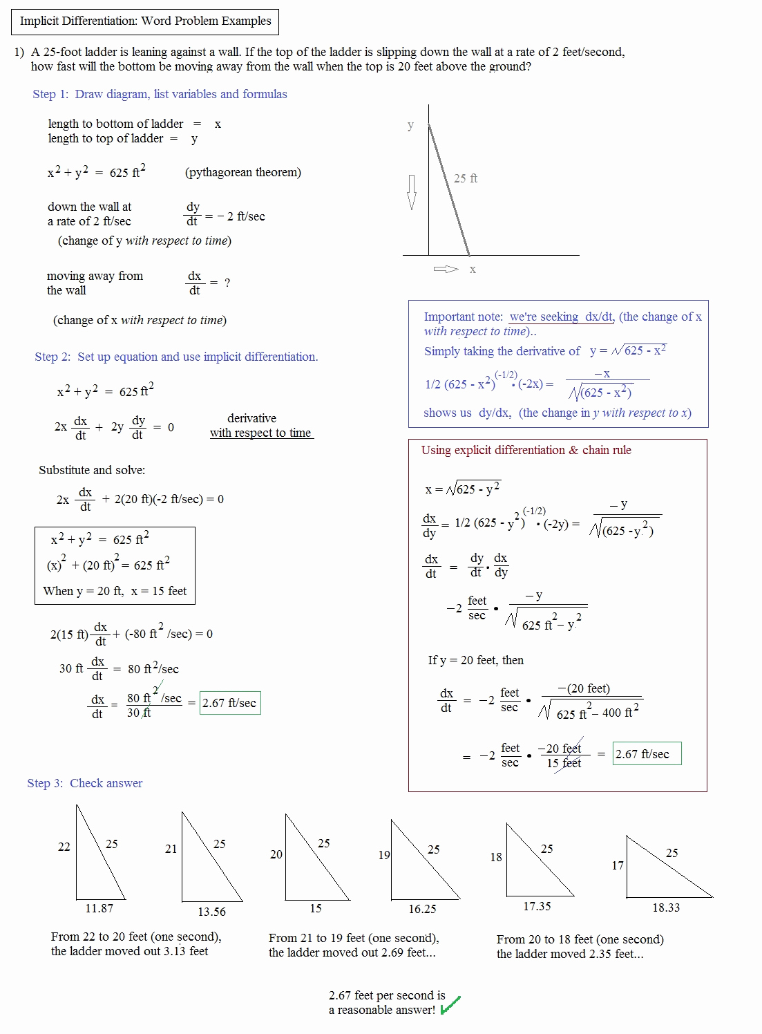 Slope Word Problems Worksheet Best Of How Can You order A Ladder Worksheet Answer Key