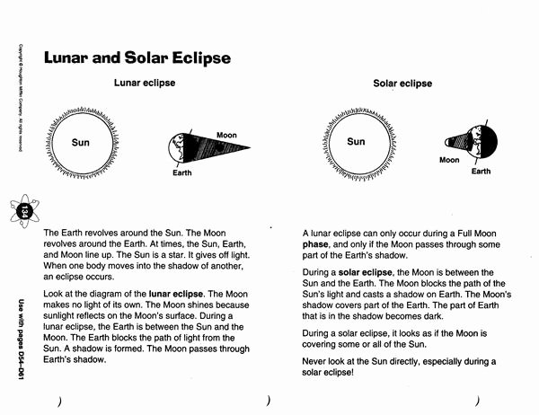 Solar and Lunar Eclipses Worksheet Awesome Zola D solar and Lunar Eclipses