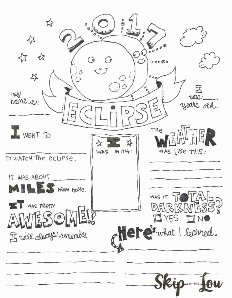 Solar and Lunar Eclipses Worksheet New 5 Ways to Celebrate the solar Eclipse