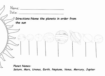 Solar System Worksheet Pdf Awesome solar System Worksheets by Lilannabananna