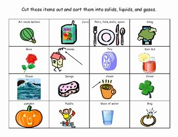 Solid Liquid Gas Worksheet Fresh solid Liquid Gas sort by Teachingwith2littles18