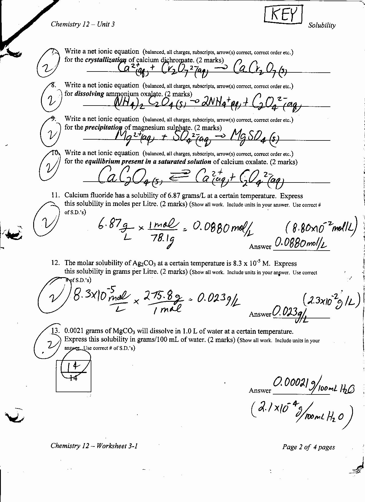 Solubility Graph Worksheet Answers Best Of solubility Ms Beaucage