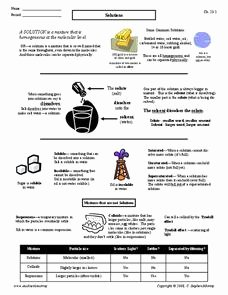 Solutions Colloids and Suspensions Worksheet Beautiful Colloids solution Suspension Lesson Plans & Worksheets