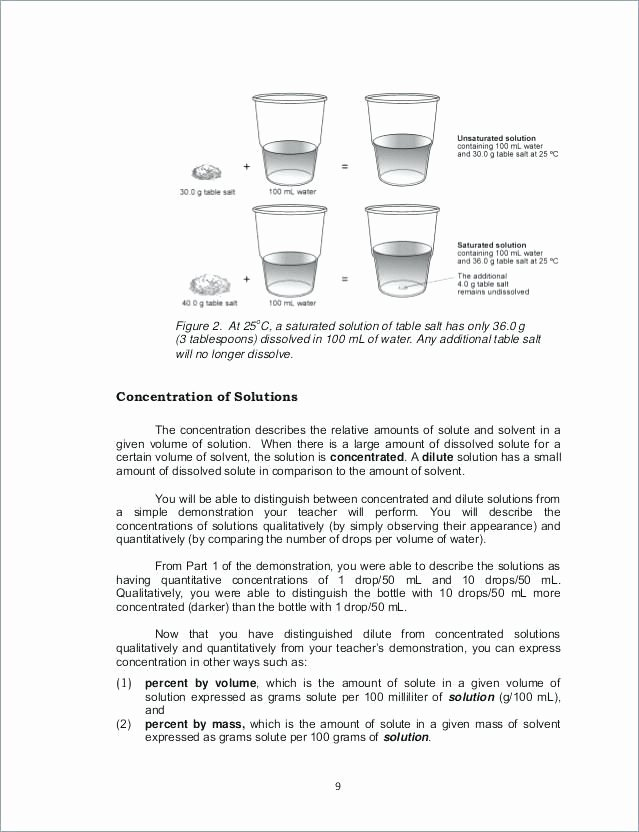 Solutions Colloids and Suspensions Worksheet Luxury solutions Colloids and Suspensions Worksheet