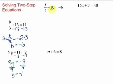 Solve 2 Step Equations Worksheet Beautiful Lesson 7 1 solving Two Step Equations