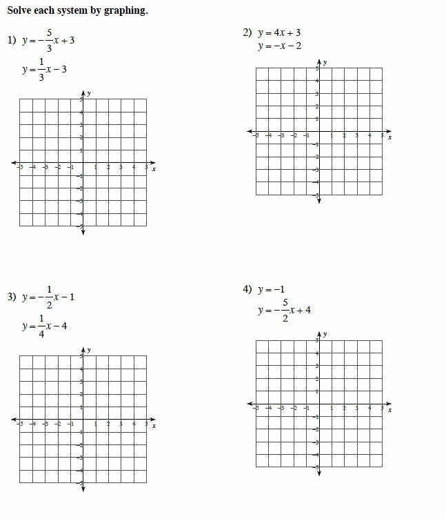 Solve and Graph Inequalities Worksheet Unique Systems Inequalities Worksheet