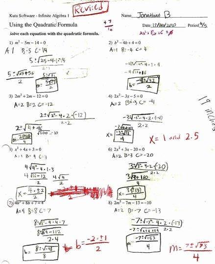 Solve by Factoring Worksheet Beautiful solving Quadratic Equations by Factoring Worksheet