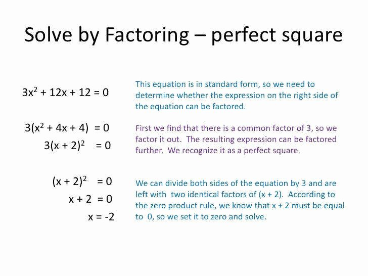 Solve by Factoring Worksheet New How to solve Polynomial Equations by Factoring