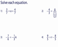 Solve Equations with Fractions Worksheet Beautiful E Step Equation Worksheets