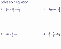 Solve Equations with Fractions Worksheet Inspirational Two Step Equation Worksheets