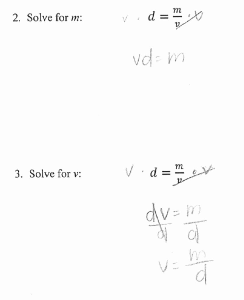 Solve Literal Equations Worksheet Luxury Literal Equations