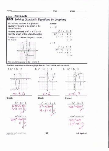 solve quadratic equations worksheet pdf