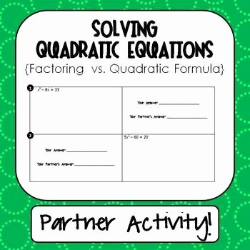 Solve Quadratics by Factoring Worksheet Luxury 17 Best Images About Functions and Relations On Pinterest
