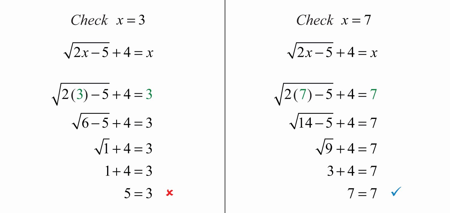 Solve Radical Equations Worksheet Elegant solving Radical Equations Practice Problems solving