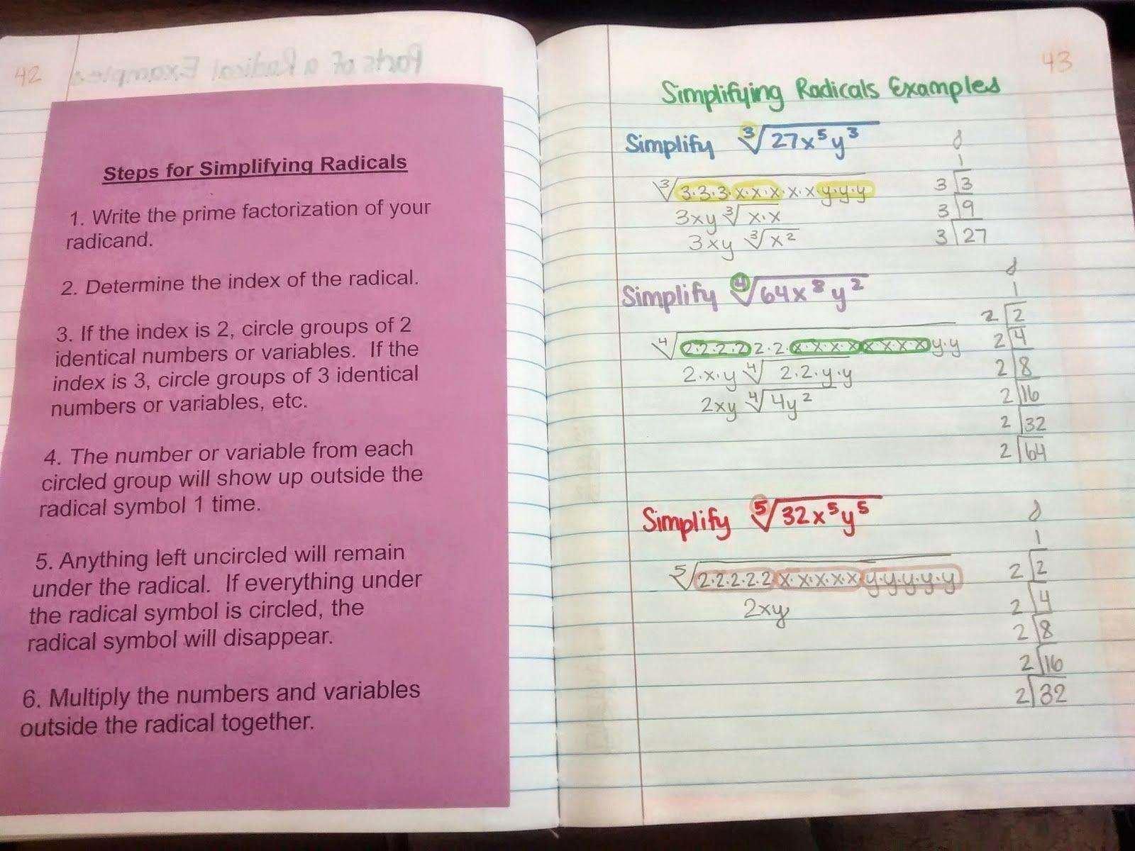 Solve Radical Equations Worksheet Inspirational solving Radical Equations Worksheet Answers Worksheet