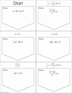 Solving Absolute Value Inequalities Worksheet Awesome 46 Best Coordinate Algebra Inequalities Images In 2015