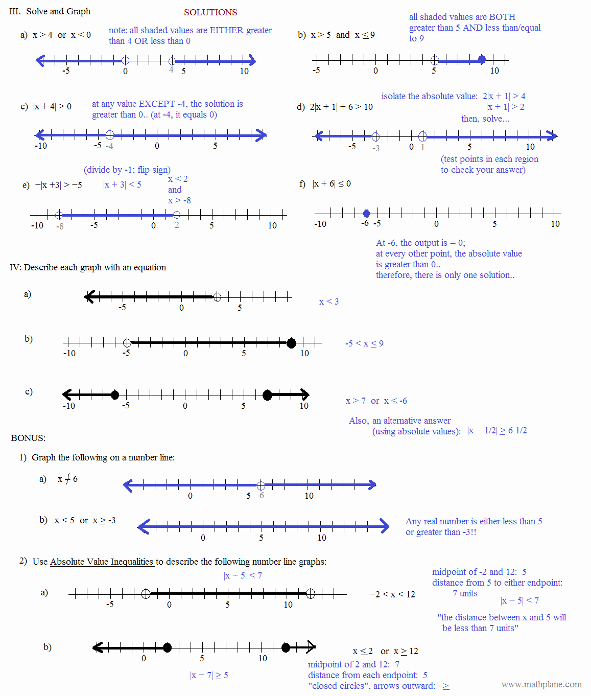 Solving Absolute Value Inequalities Worksheet Beautiful 1 6 solving Pound and Absolute Value Inequalities