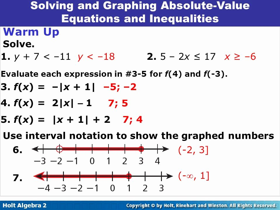 Solving Absolute Value Inequalities Worksheet Beautiful Math Worksheet solving Absolute Values and Plotting them