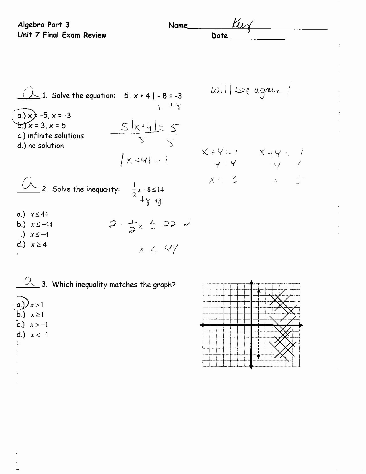 Solving Equations Review Worksheet Lovely solving Linear Equations Review Worksheet Pdf Tessshebaylo